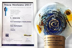 Shopiño ocenenie Múza Merkúra!
